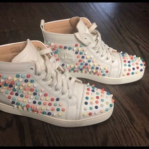 AUTHENTIC CHRISTIAN LOUBOUTIN WOMAN SNEAKERS
